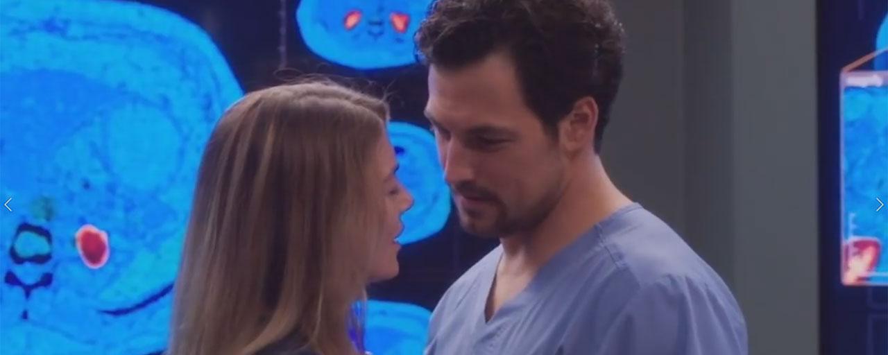 Grey's Anatomy saison 15 : une tempête et des tumultes amoureux dans le teaser du final de mi-saison