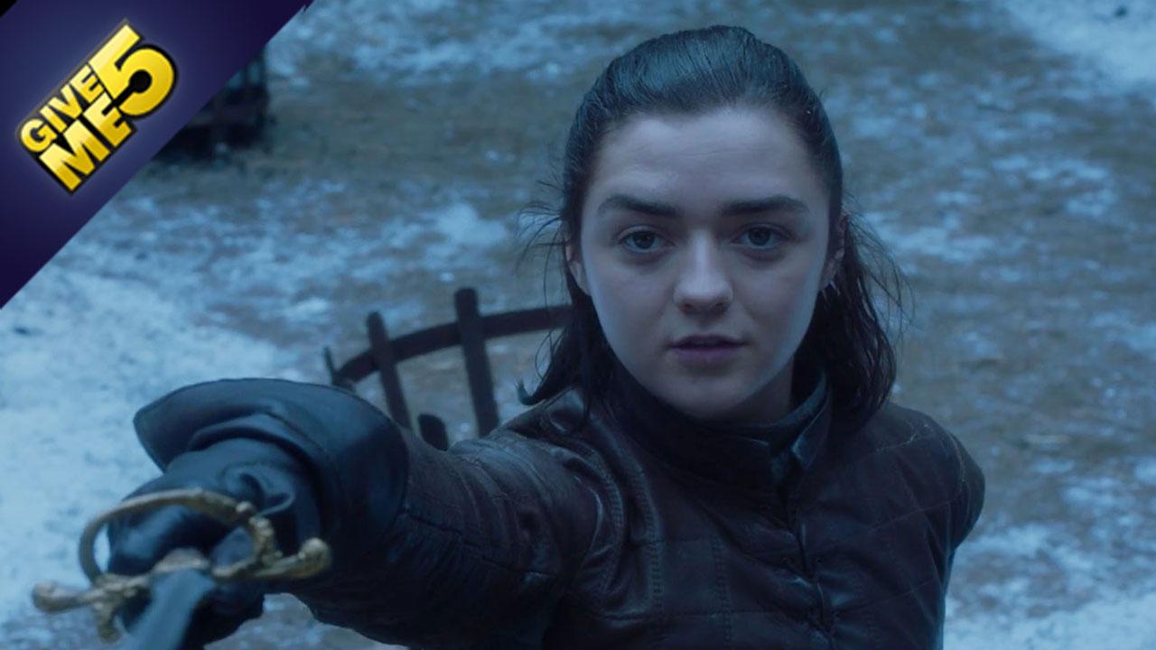 Game of Thrones : saviez-vous que le Roi de la Nuit avait entraîné Arya ? [SPOILERS]