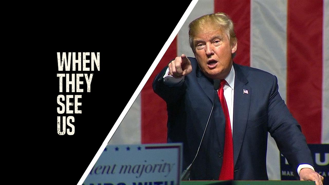 Dans leur regard sur Netflix : Donald Trump refuse de s'excuser malgré la série-choc