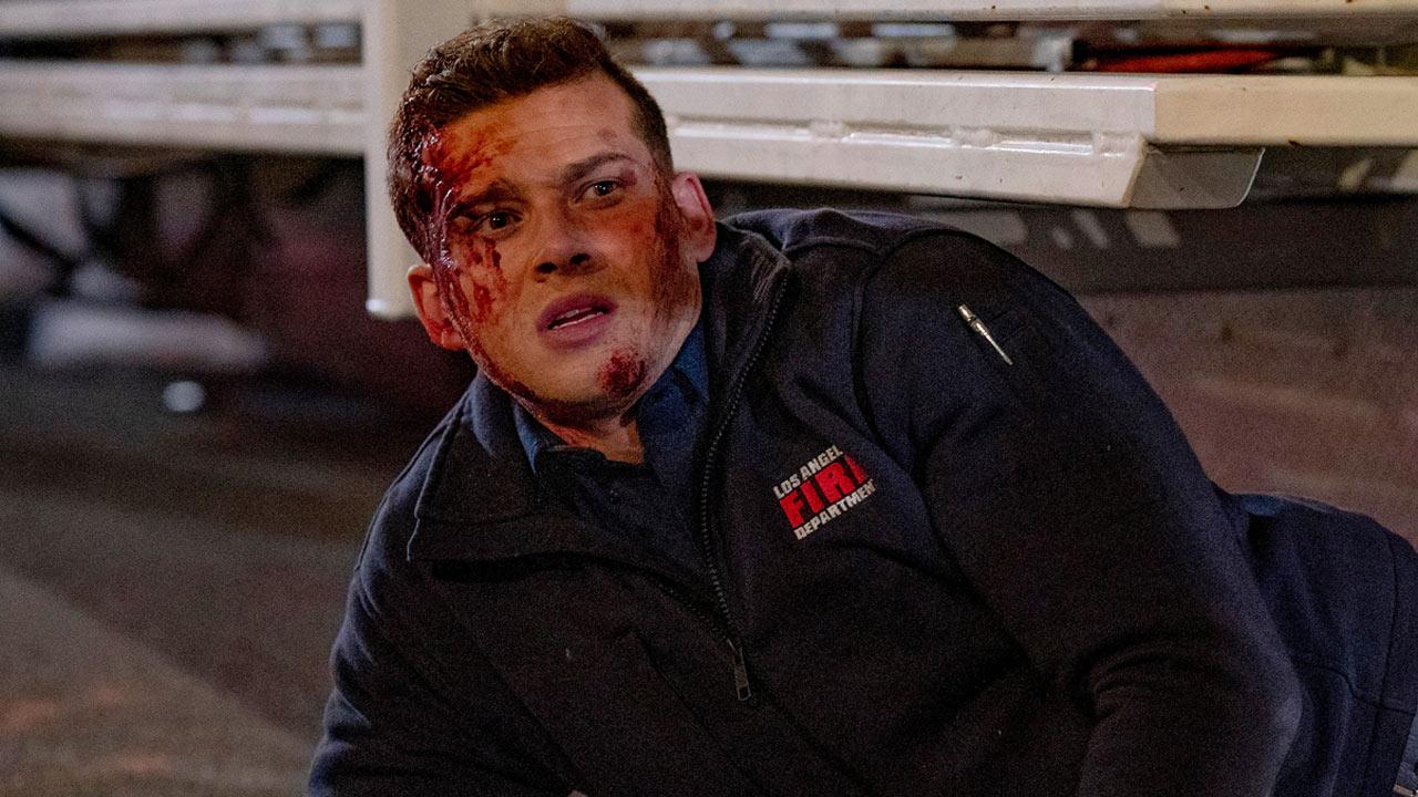 """9-1-1 (M6) : le final de la saison 2 est """"très explosif"""" selon Oliver Stark [INTERVIEW]"""