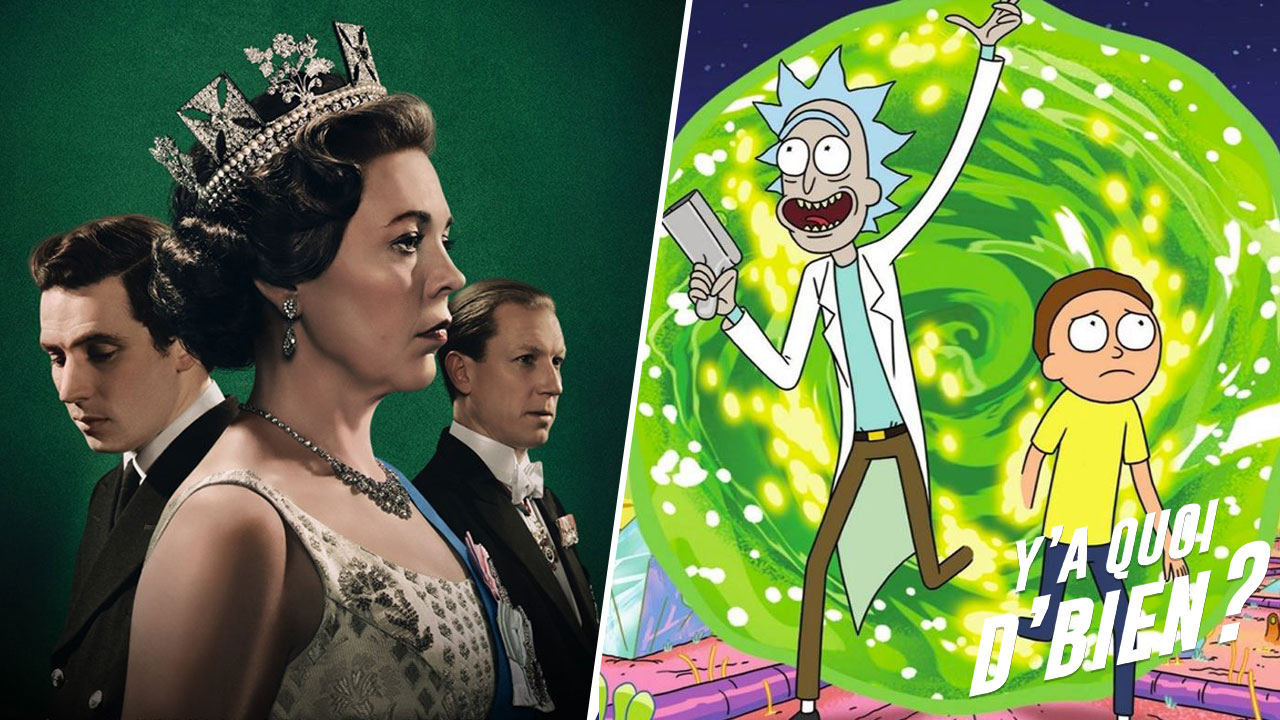 Rick et Morty, The Crown... Quelles séries voir à la TV ? [PODCAST]