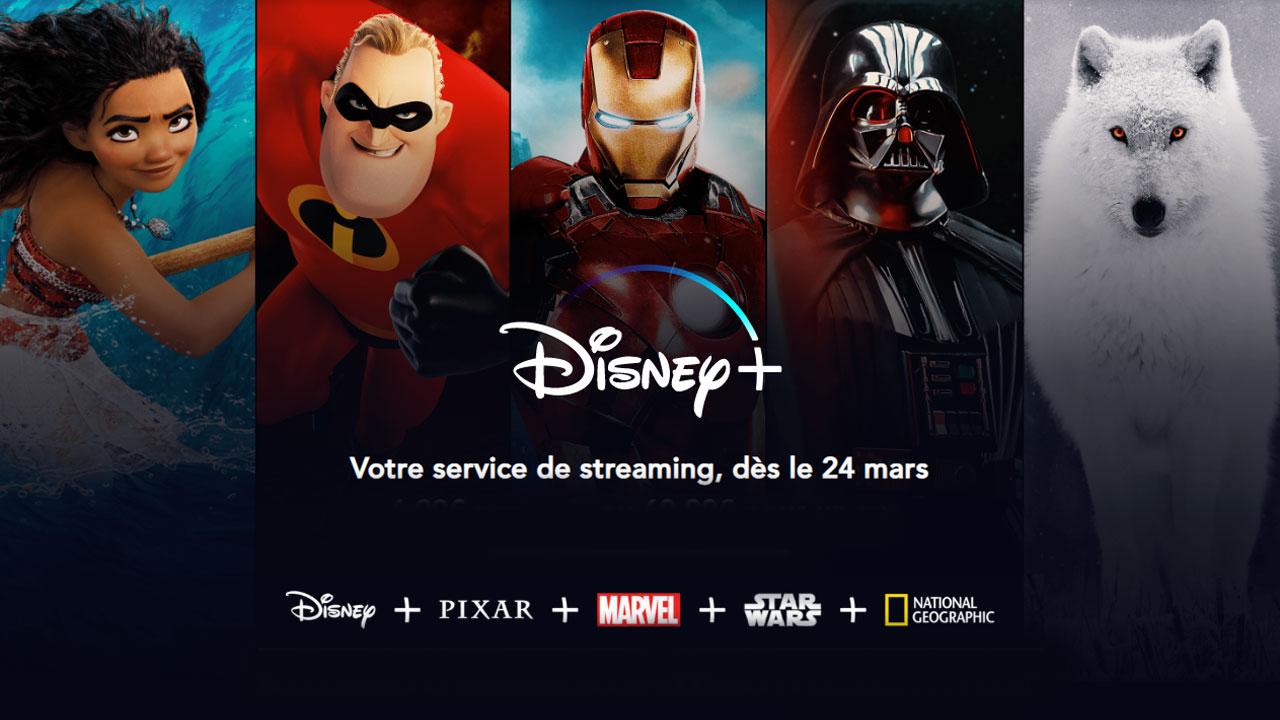 Disney+ en France : une nouvelle date et les prix de la plateforme de streaming