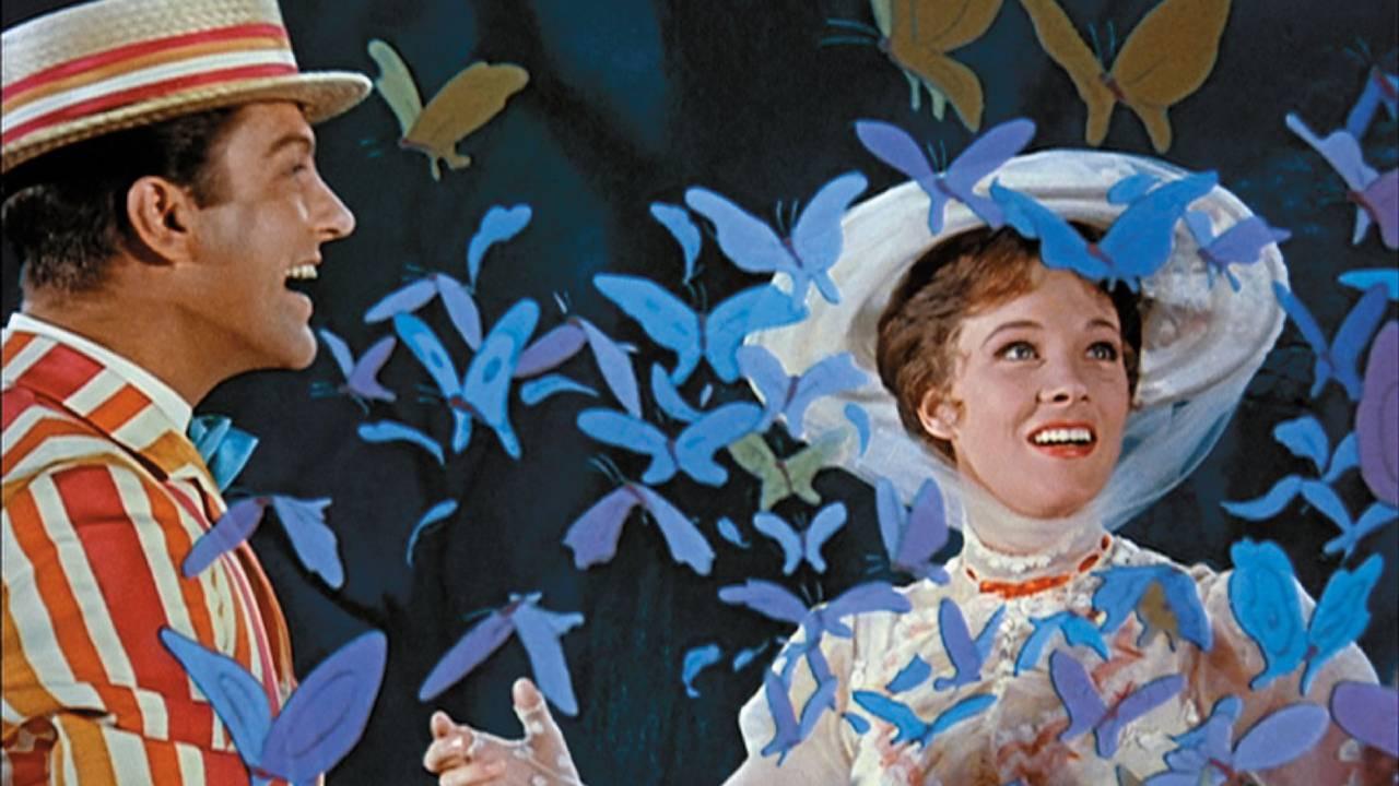 Découvrir le cinéma en famille : Mary Poppins la nounou culte de Walt Disney
