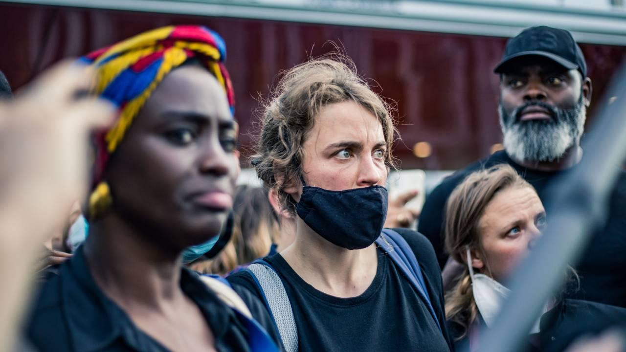 Justice pour Adama : Aïssa Maïga, Camelia Jordana, Adèle Haenel et Marina Foïs parmi les manifestants du 2 juin