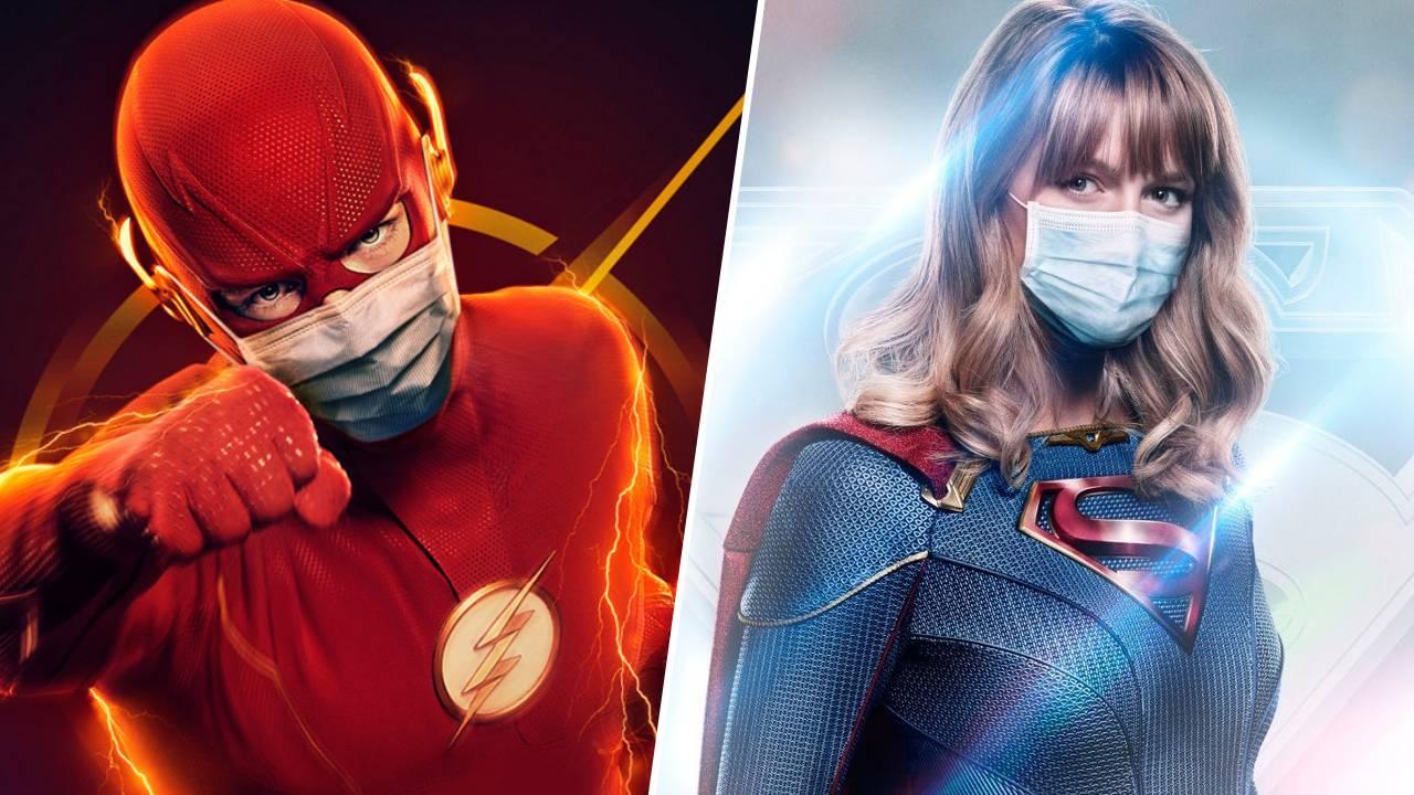 Coronavirus : Flash et Supergirl mettent des masques sur leurs affiches
