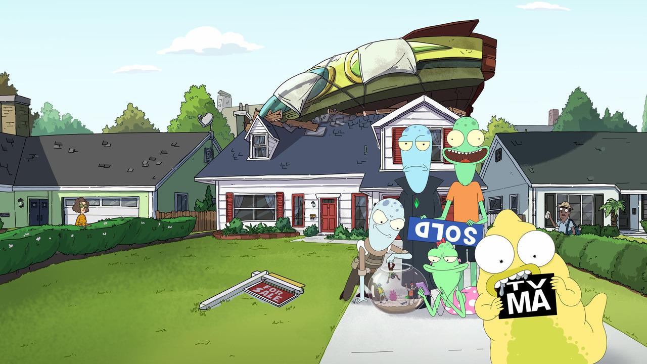 Solar Opposites sur Disney+ STAR : c'est quoi cette série animée du créateur de Rick & Morty ?