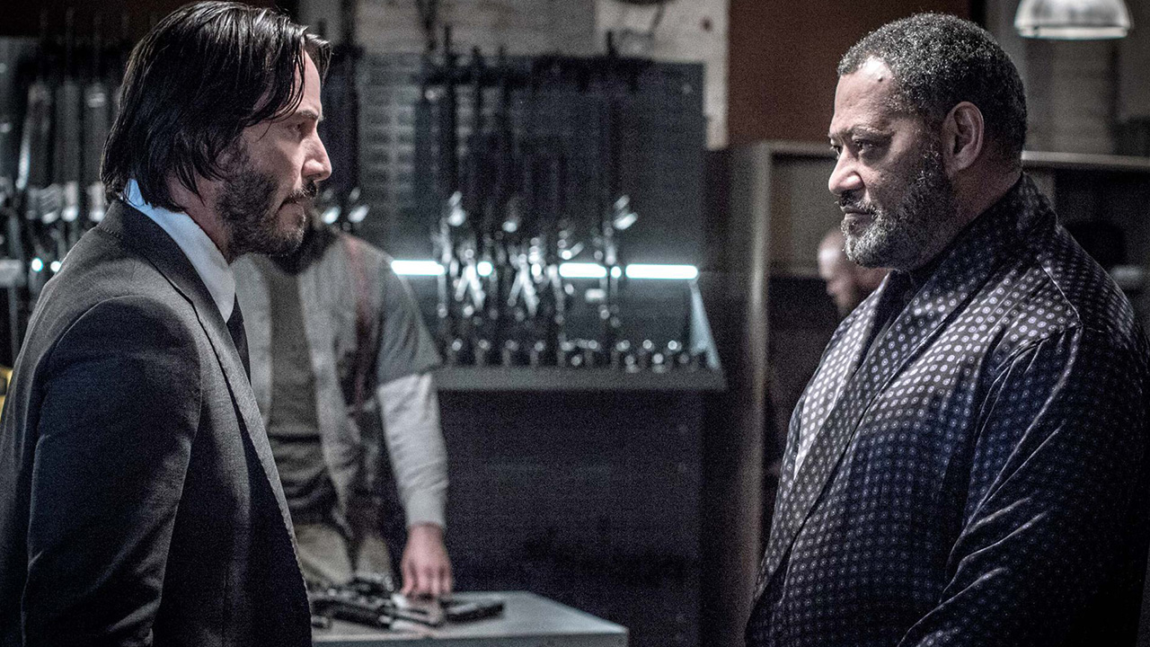 John Wick 4 : Laurence Fishburne confirme son retour aux côtés de Keanu Reeves