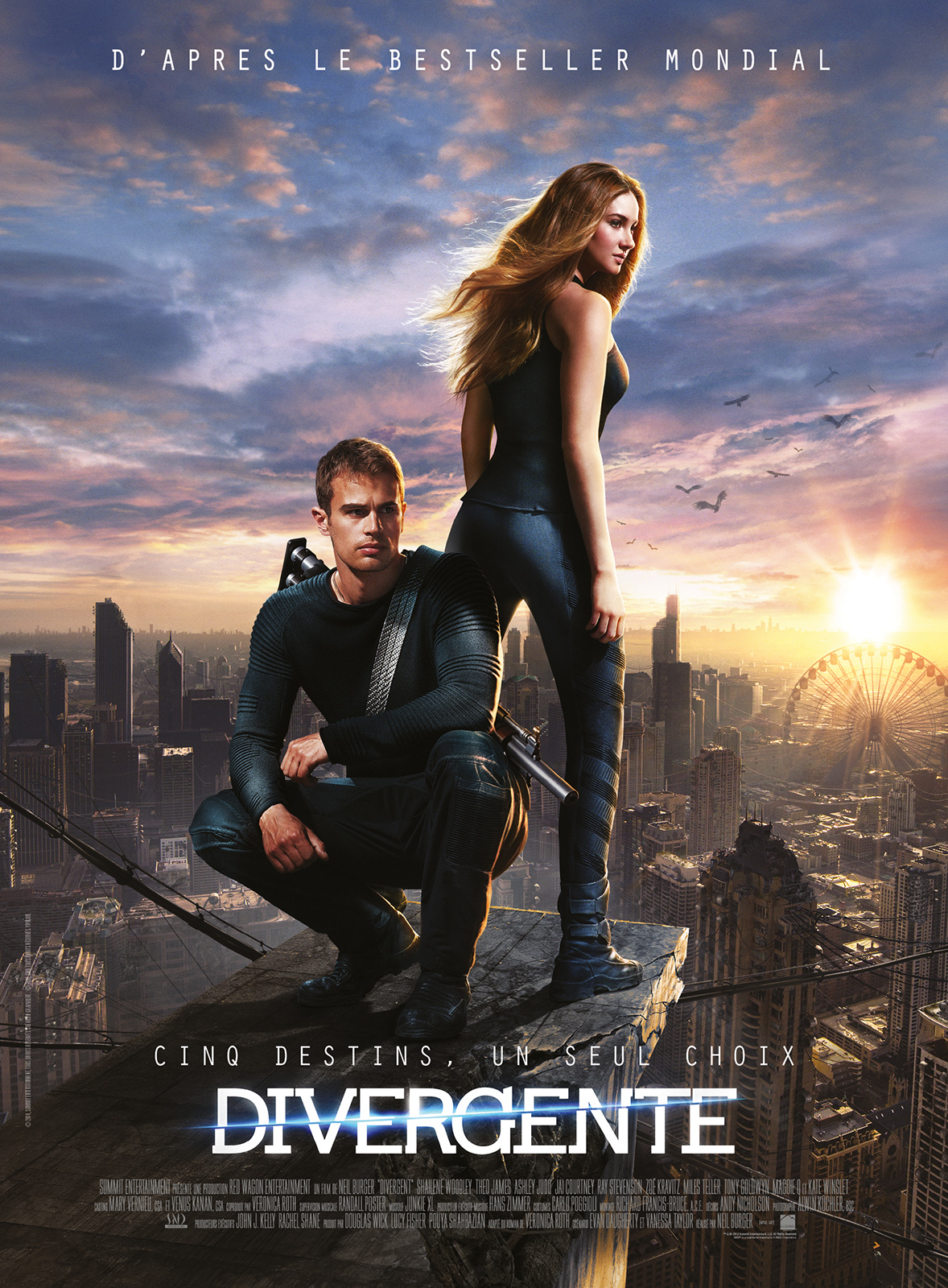Divergente | Multi | 1CD | BDRiP | 2014