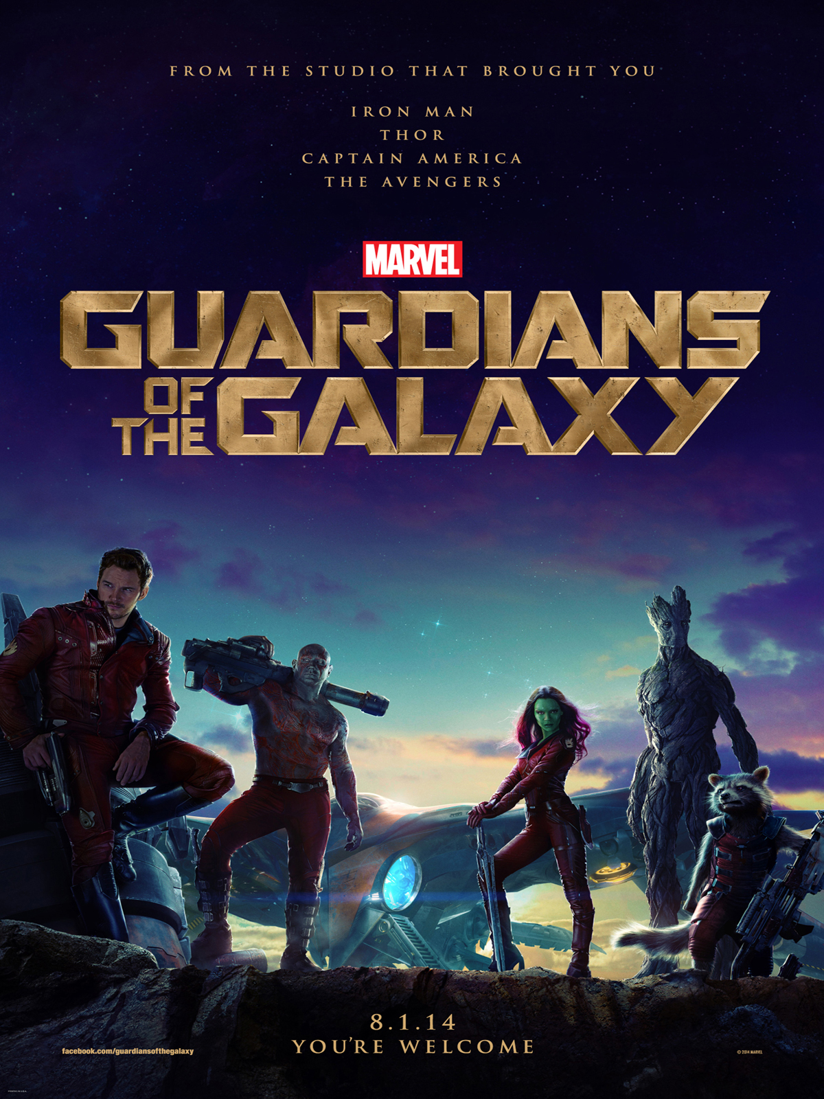 Les Gardiens de la Galaxie streaming film