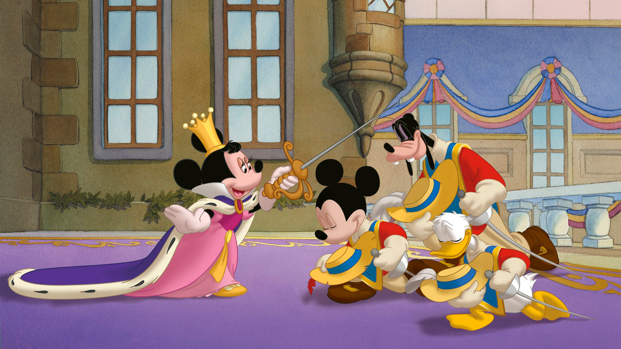 Photo du film mickey donald dingo les trois - Mickey les 3 mousquetaires ...