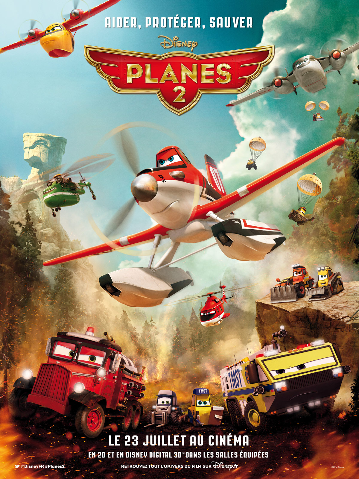 Planes 2 | Multi | BDRiP | FRENCH | 2014