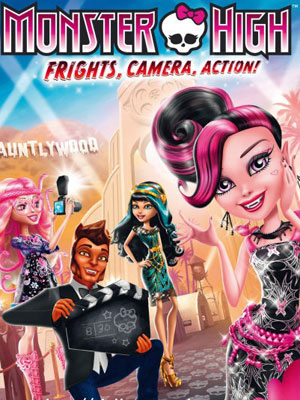 Monster High - Frisson, caméra, action ! streaming