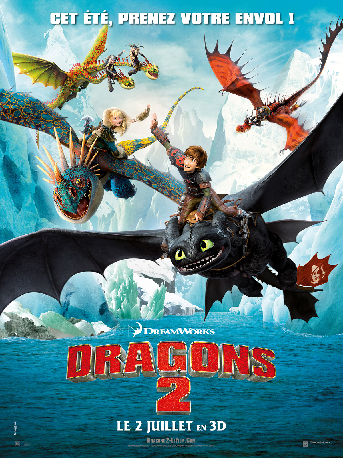 Dragons 2 | Multi | BDRiP | FRENCH | 2014