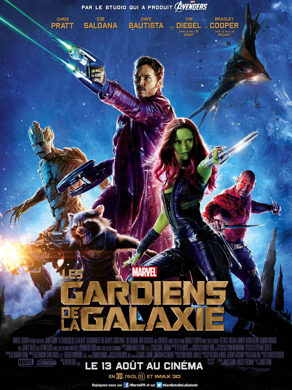 Box office du film les gardiens de la galaxie allocin - Classement film box office ...