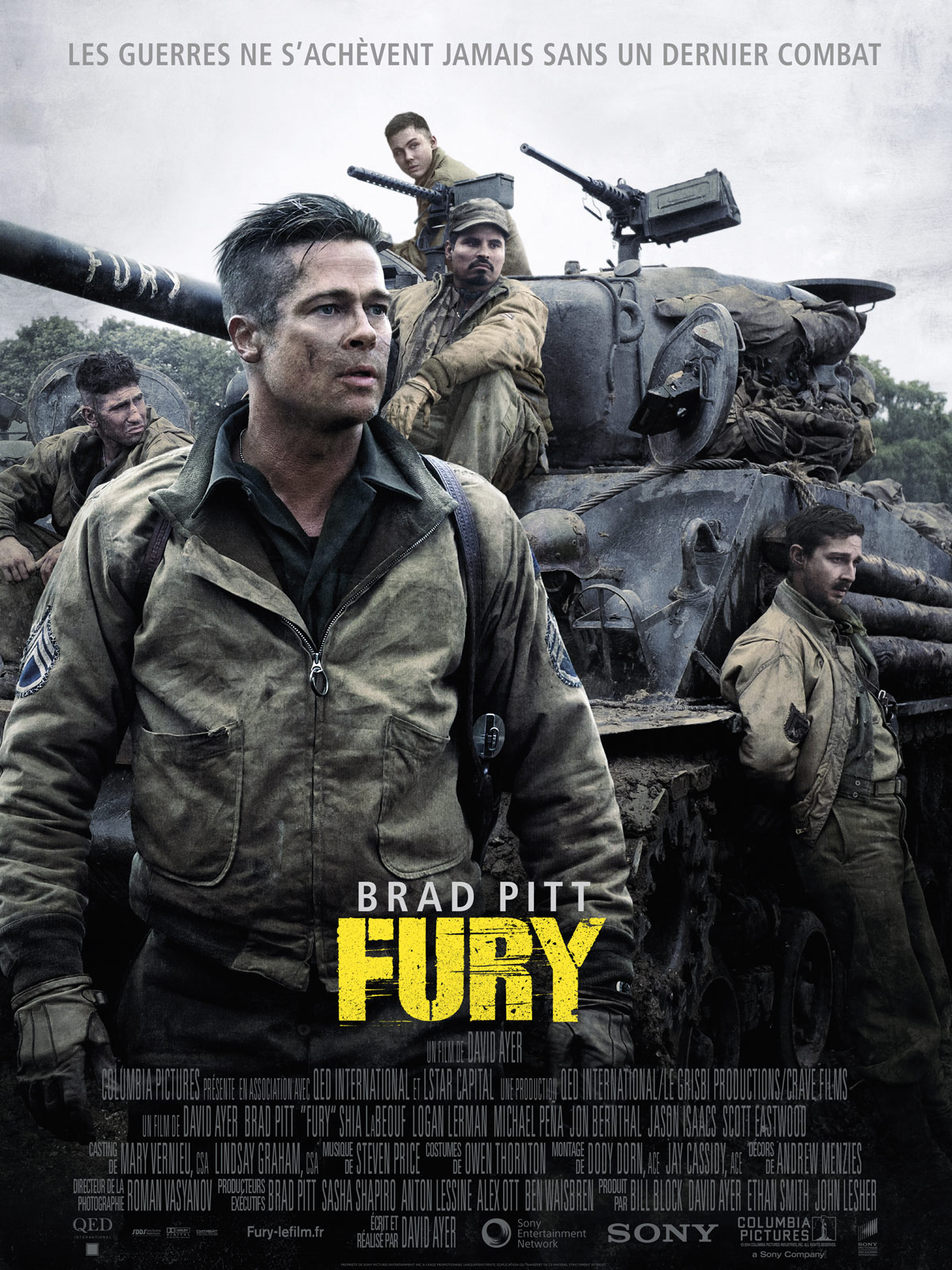 Fury | Multi | HDRip-1080p | 2014