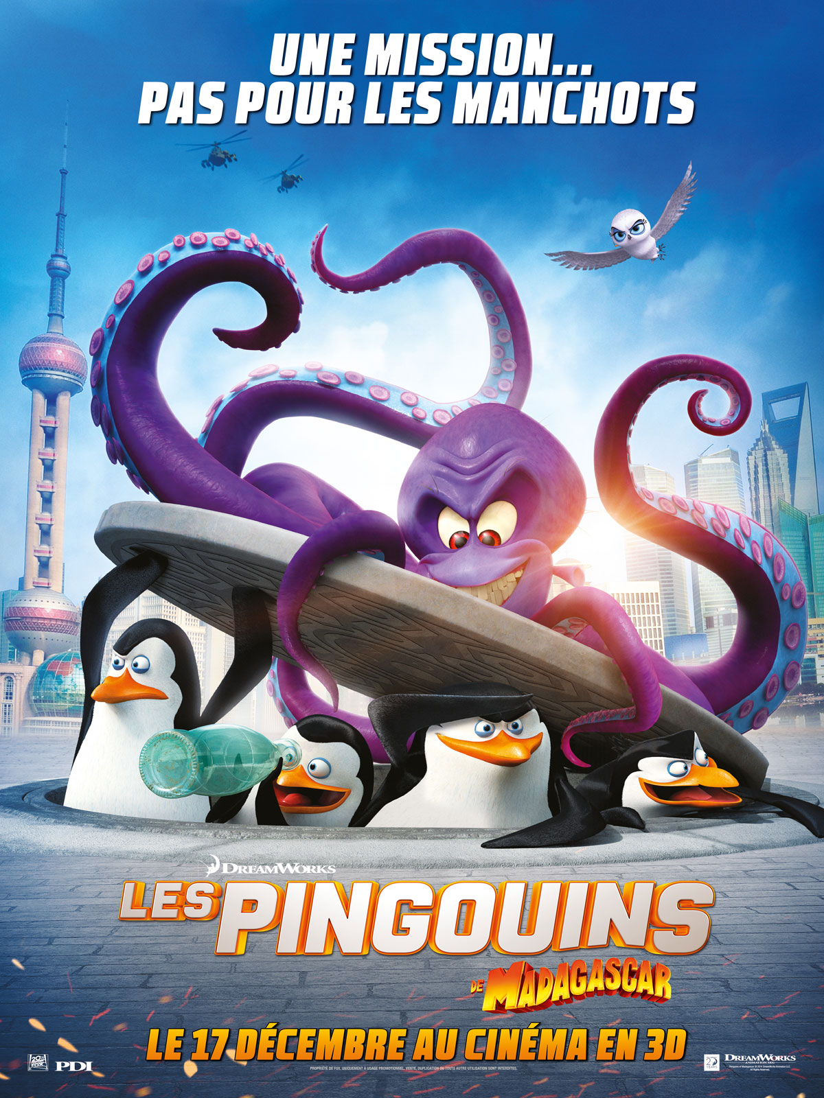 Les Pingouins de Madagascar streaming