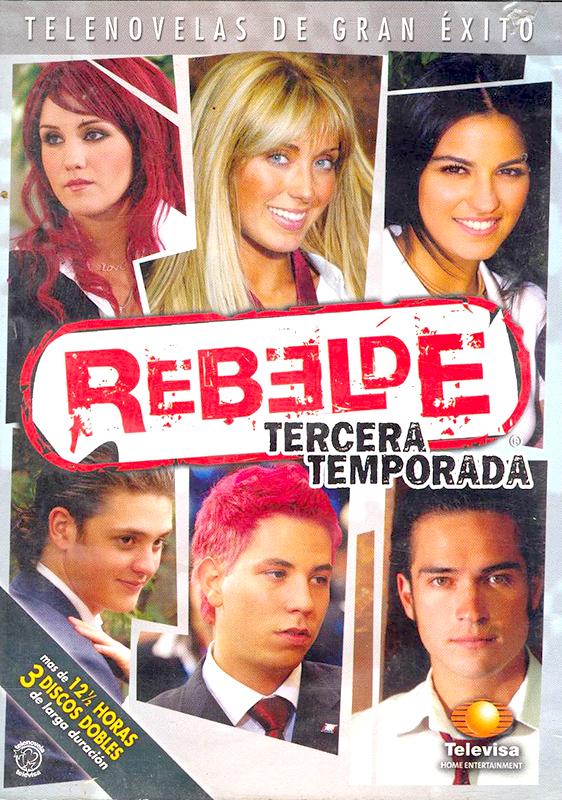 Affiche de la série Rebelde
