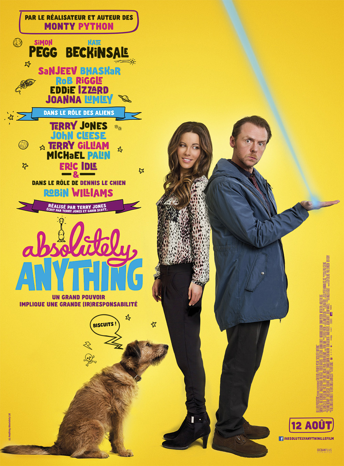 Absolutely Anything affiche