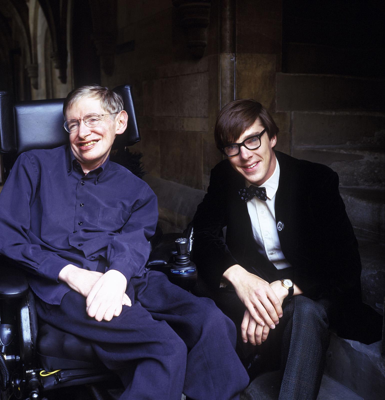 Benedict Cumberbatch Hawking