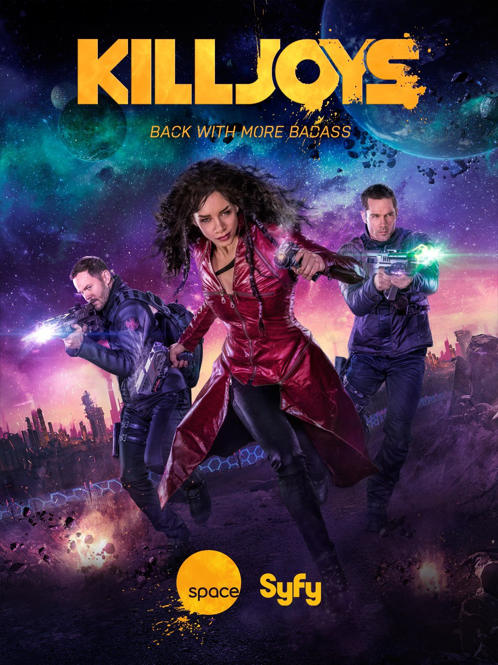 Killjoys Saison 3 Complete [10/10] FRENCH | Qualité HDTV