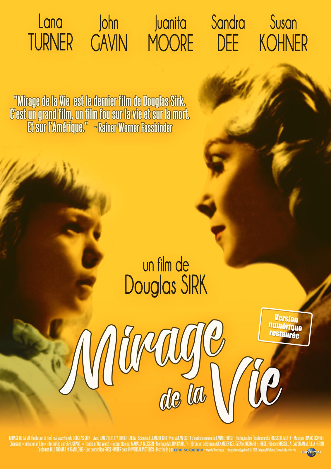 Mirage De La Vie Film 1959 Allocine