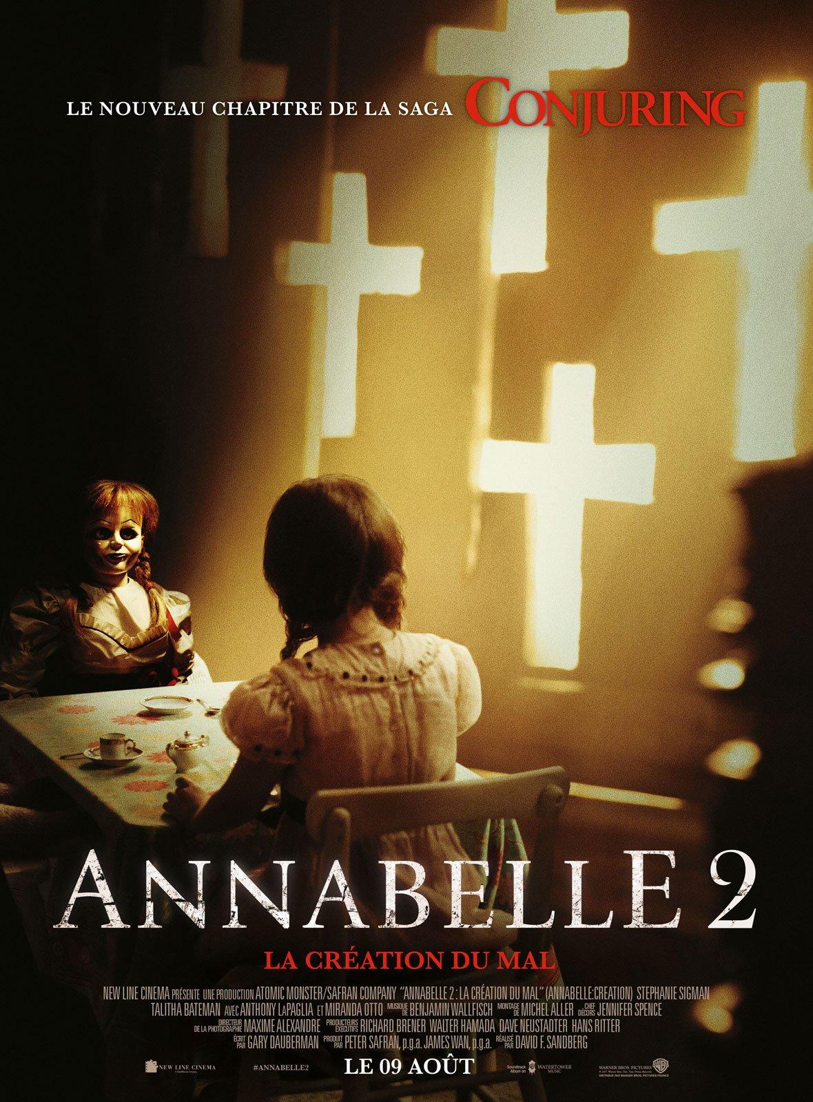Annabelle 2 : la Création du Mal streaming