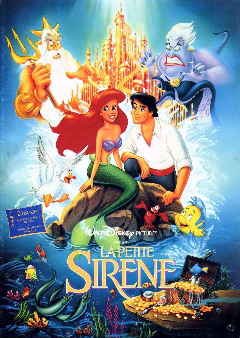 La petite sir ne film 1989 allocin - Barbi sirene 2 film ...