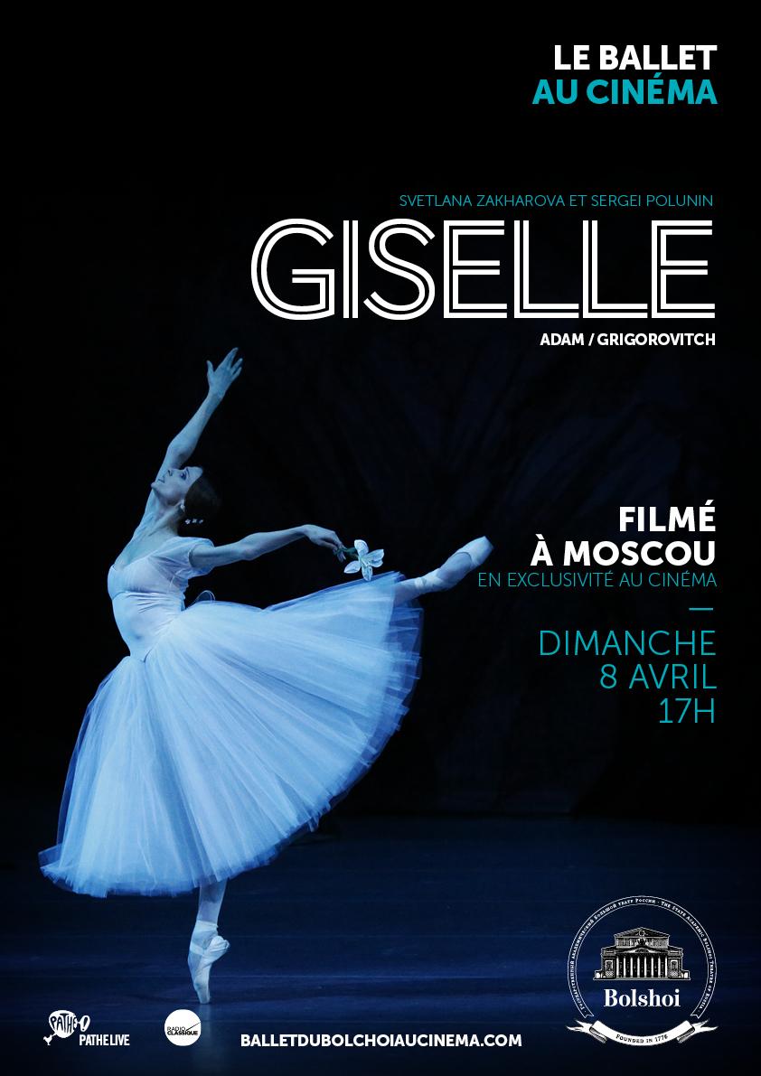 Image du film Giselle (Bolchoï-Pathé live)