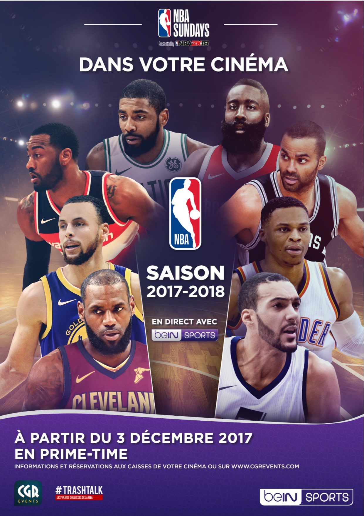 NBA 2017-2018 (CGR Events)