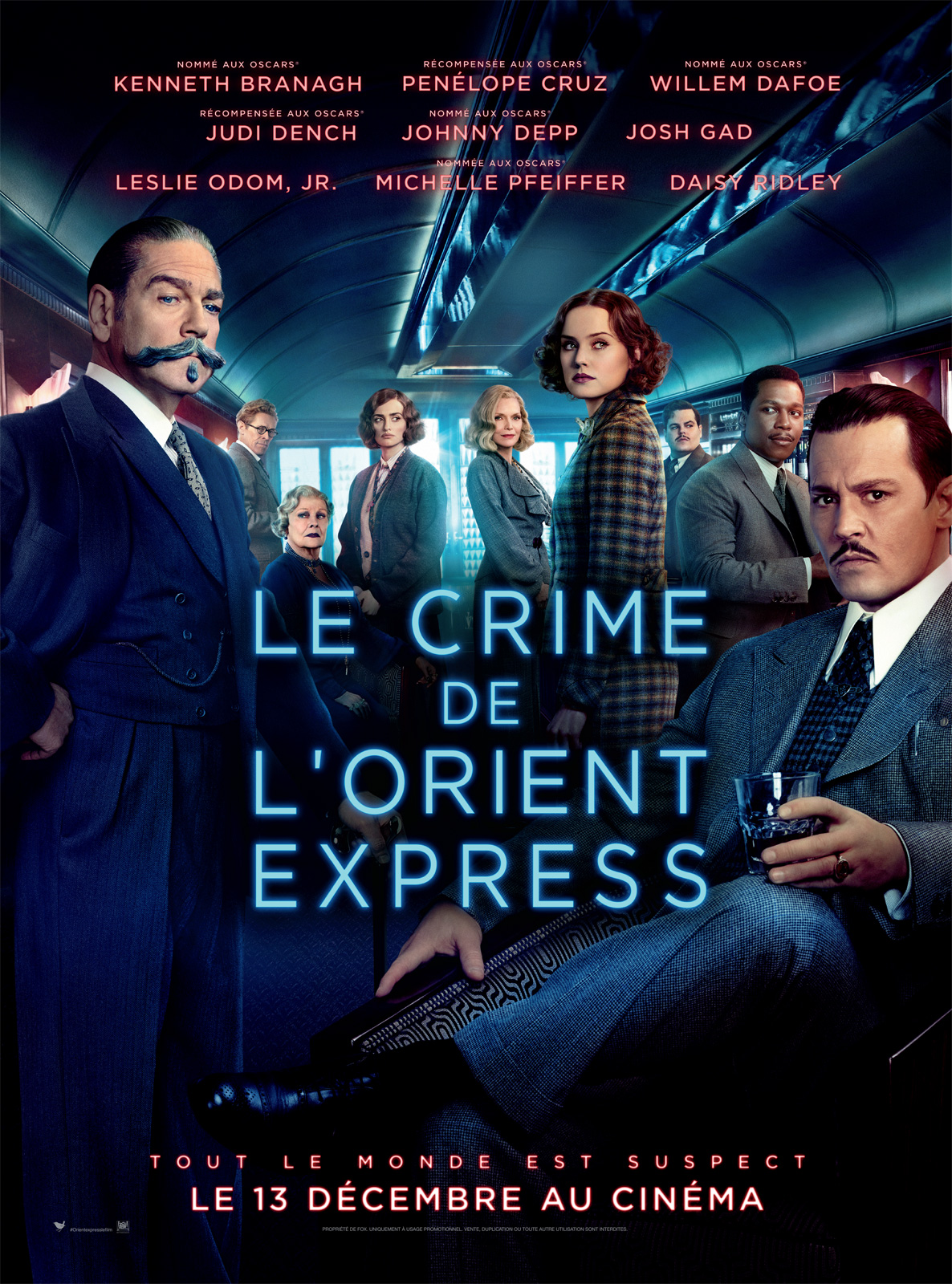 le crime de l 39 orient express film 2017 allocin. Black Bedroom Furniture Sets. Home Design Ideas