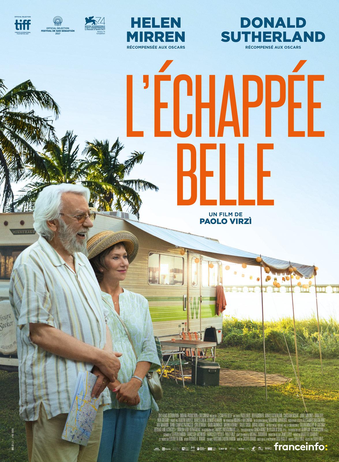 Affiche du film L'Echappée belle