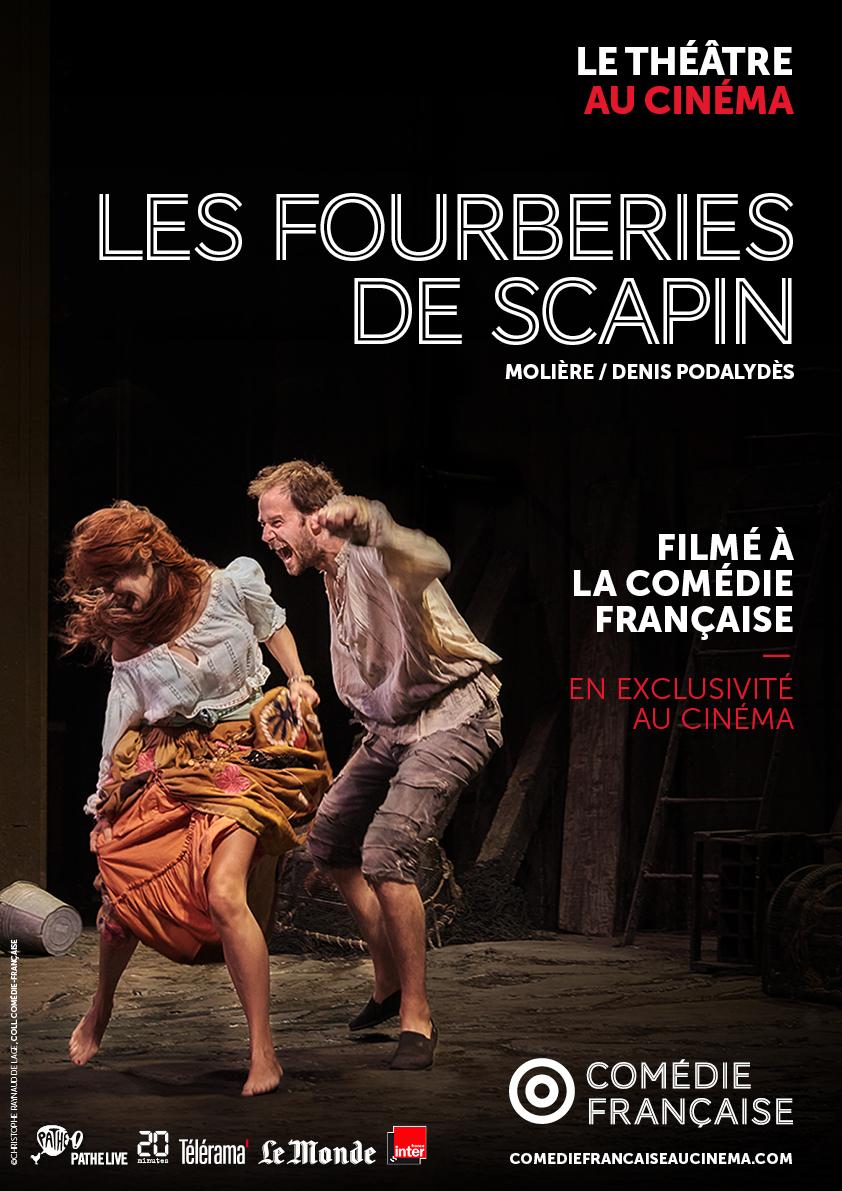Image du film Les Fourberies de Scapin (Comédie-Française / Pathé Live)