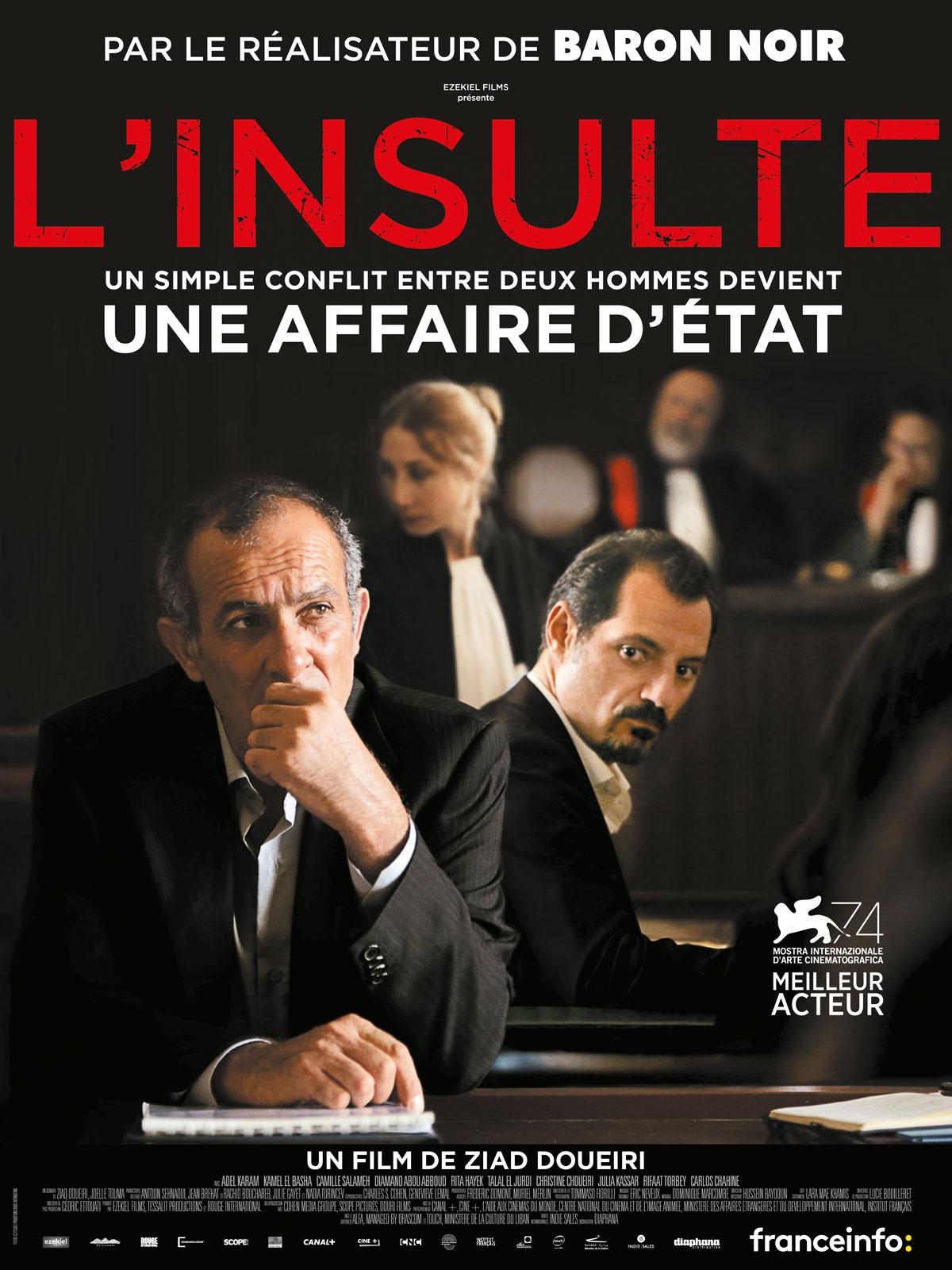 Image du film L'Insulte