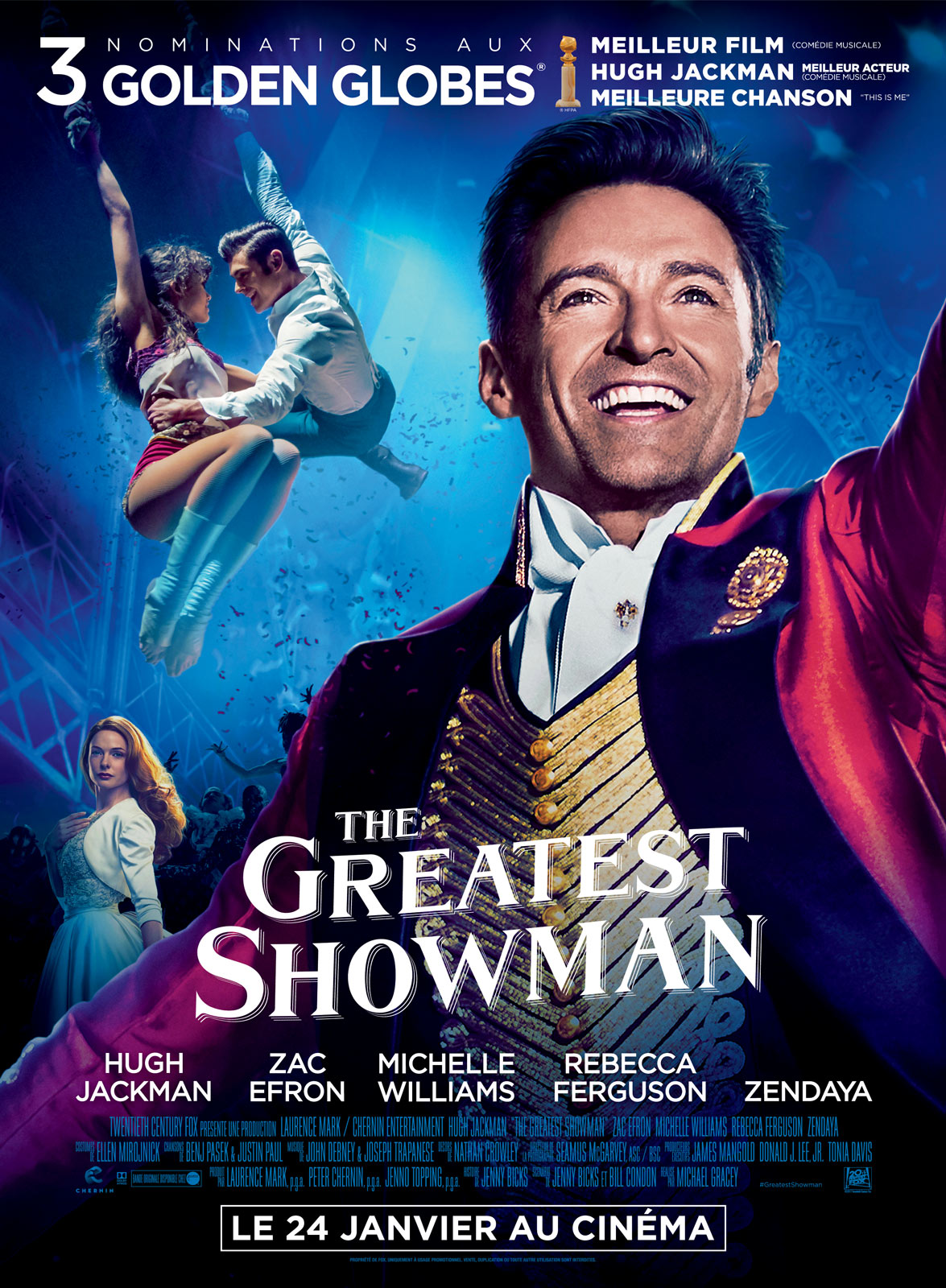 Affiche du film The Greatest Showman