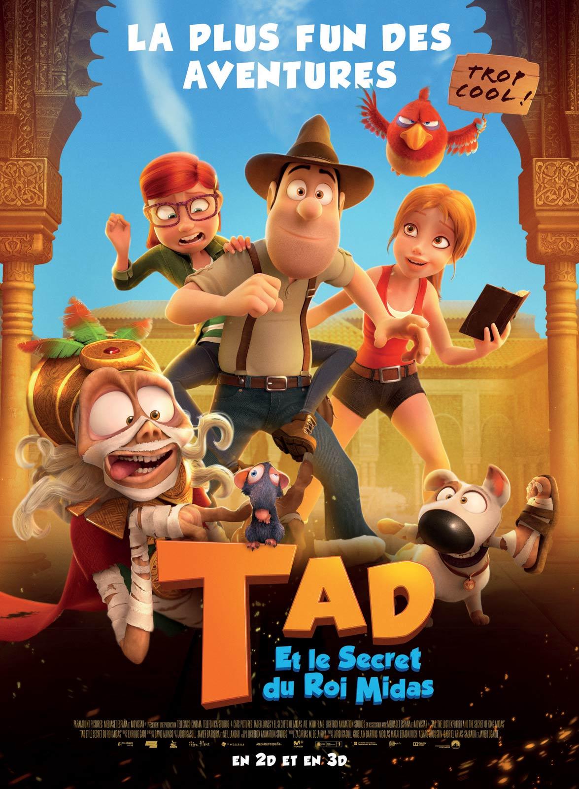 Image du film Tad et le secret du roi Midas