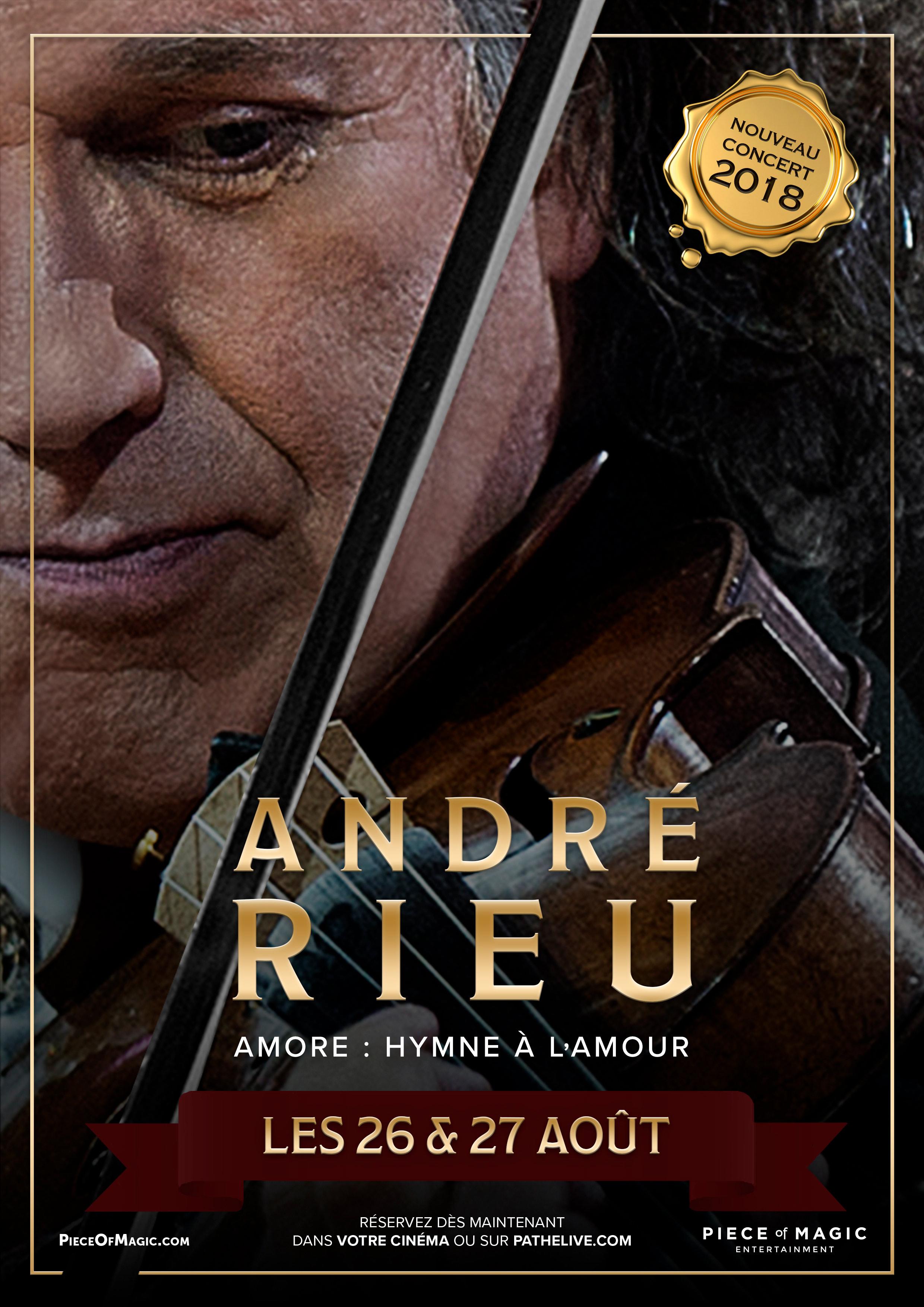 Image du film André Rieu - Amore : Hymne à l'amour (Pathé Live)