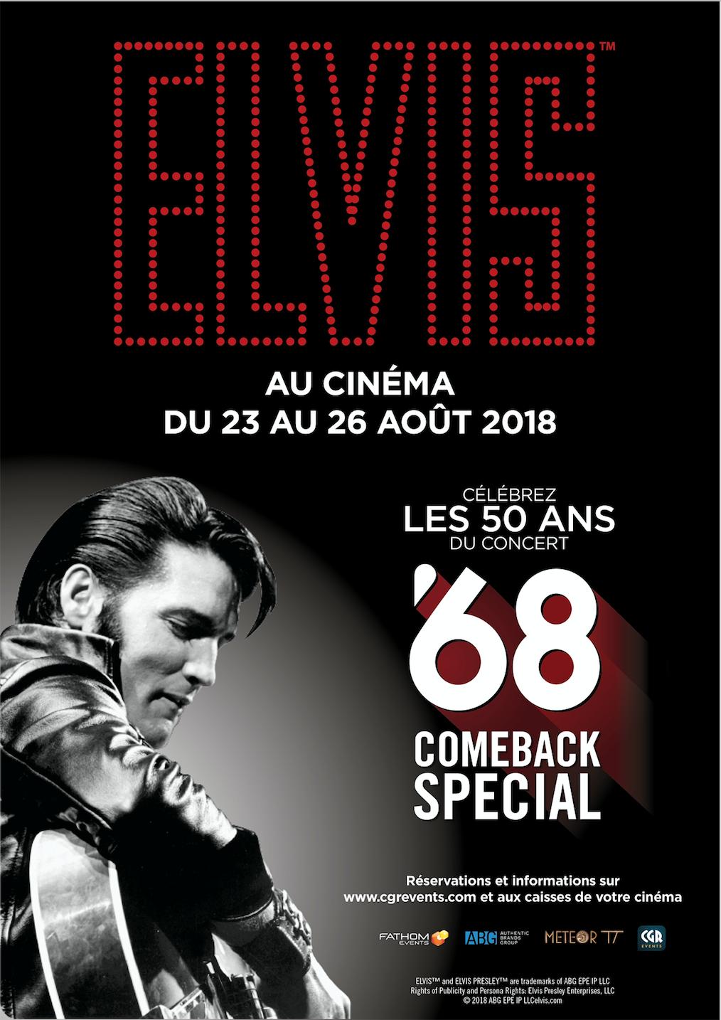 Image du film Elvis Presley : 68 comeback special (CGR Events)