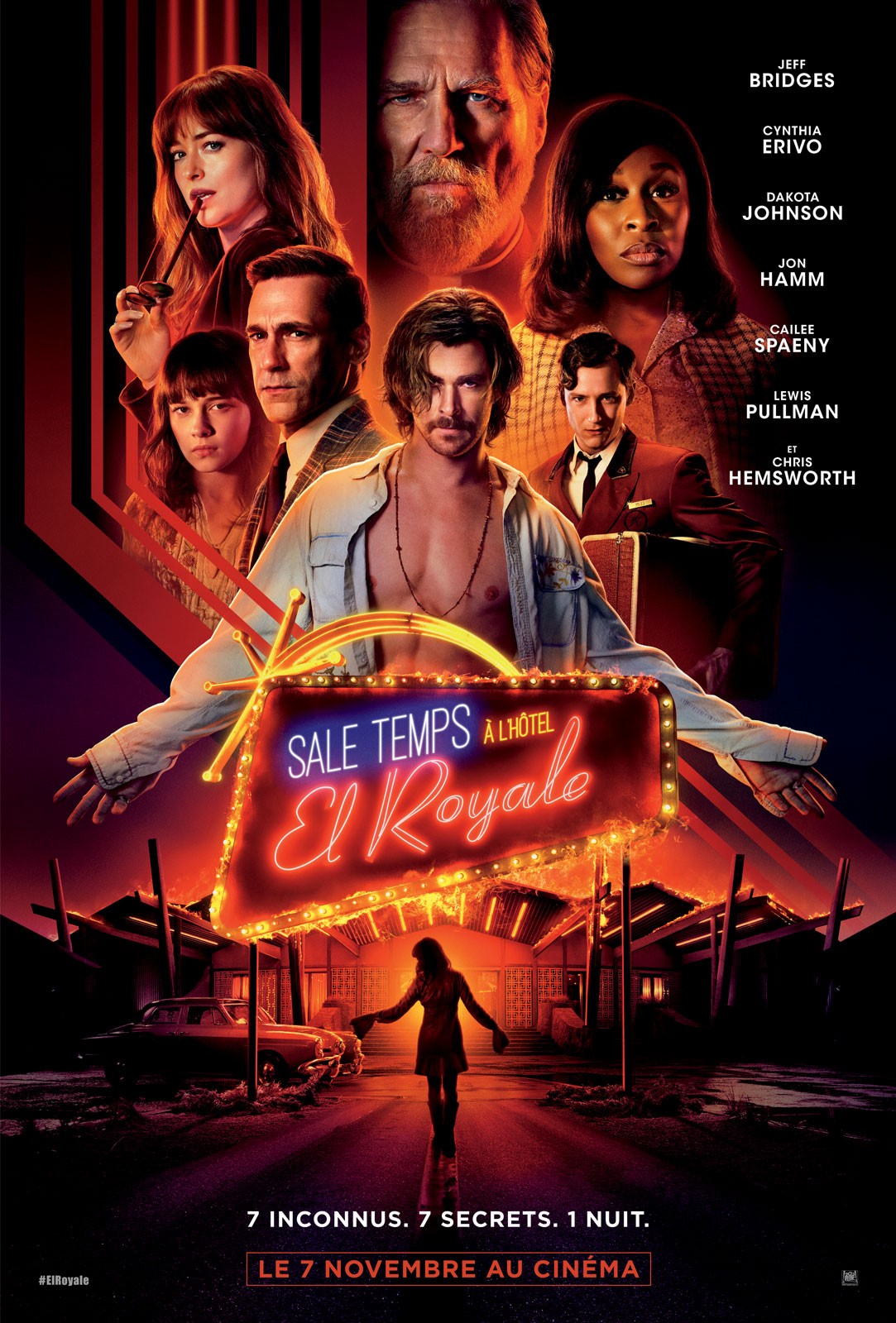 Sale temps à l'hôtel El Royale streaming