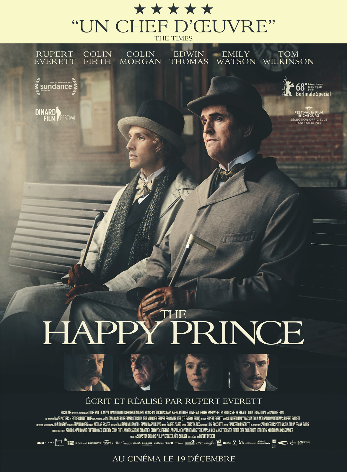The Happy Prince Film 2018 Allociné
