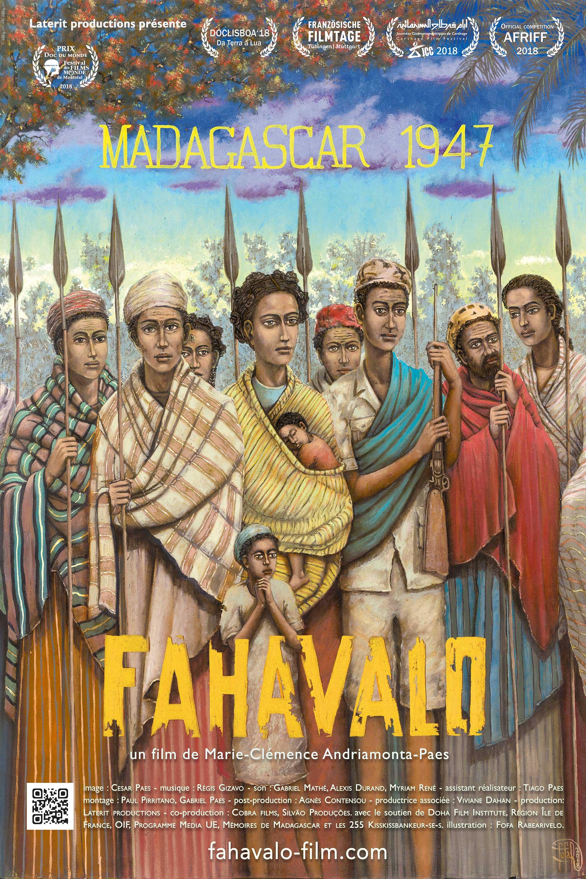 Image du film Fahavalo, Madagascar 1947