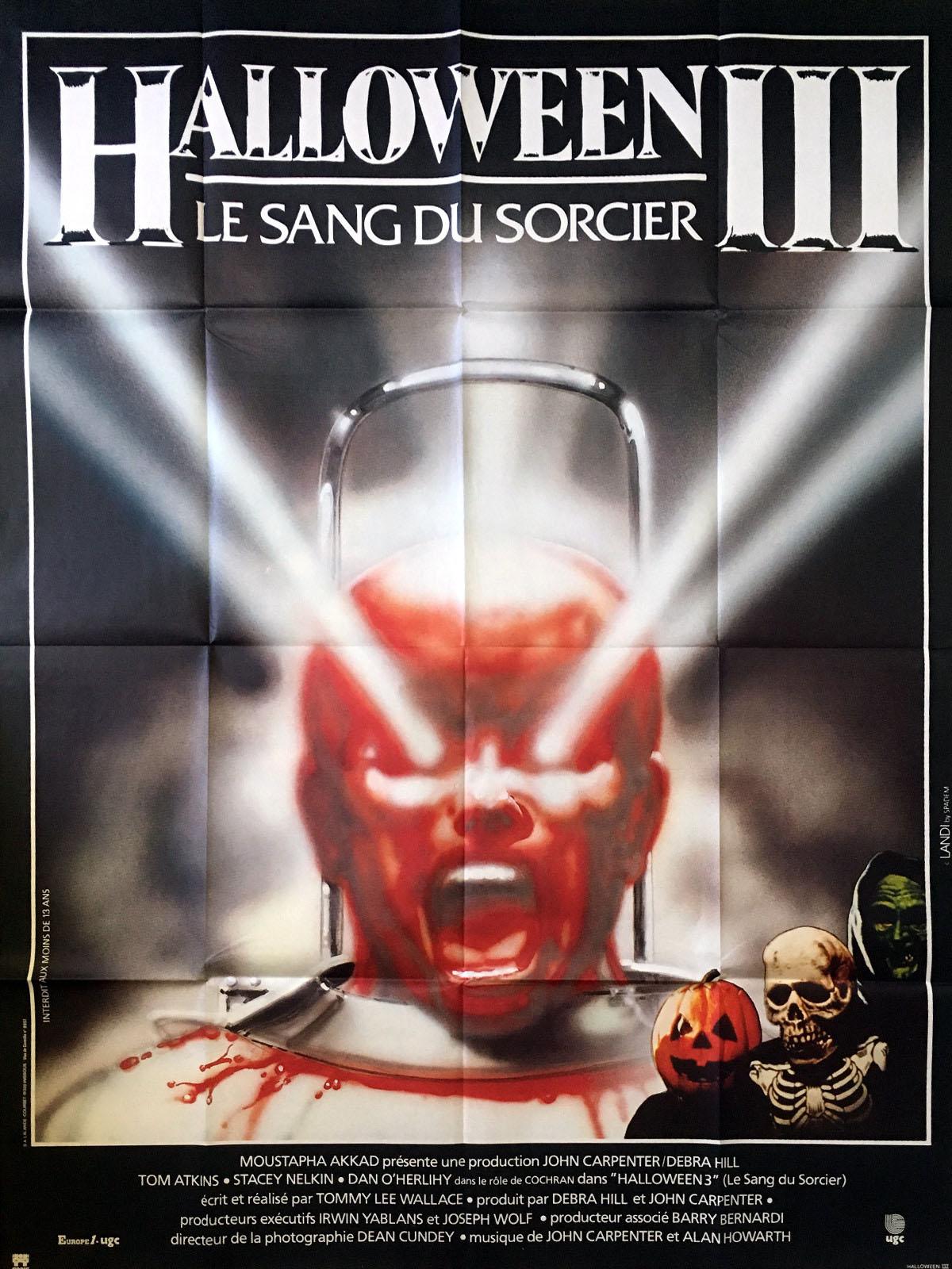 code promo dernière vente 2019 meilleures ventes Halloween 3 : Le sang du sorcier - film 1982 - AlloCiné