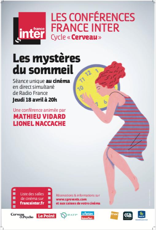 Image du film Les mystères du sommeil - Conférence France Inter (CGR Events)
