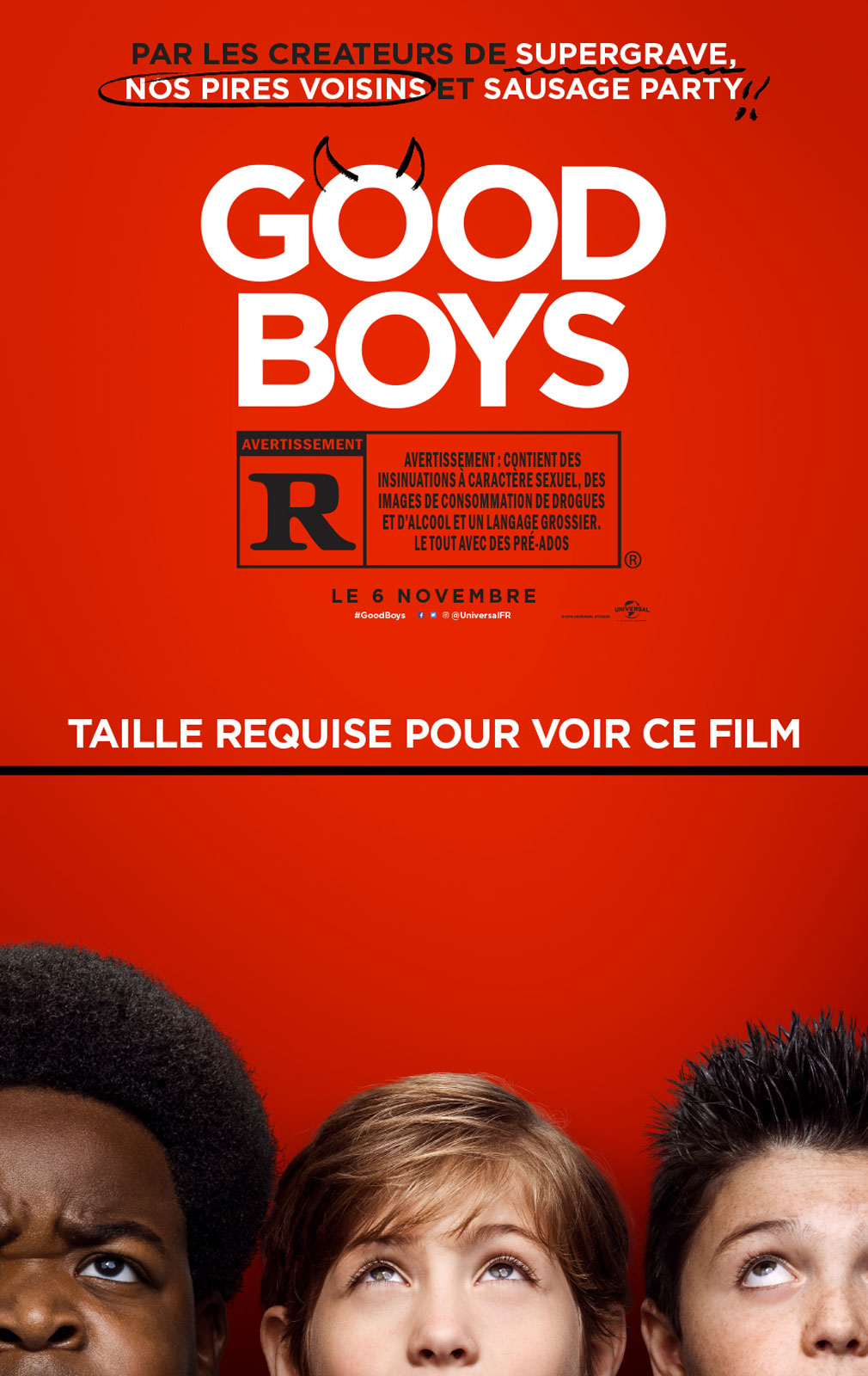 Image du film Good Boys
