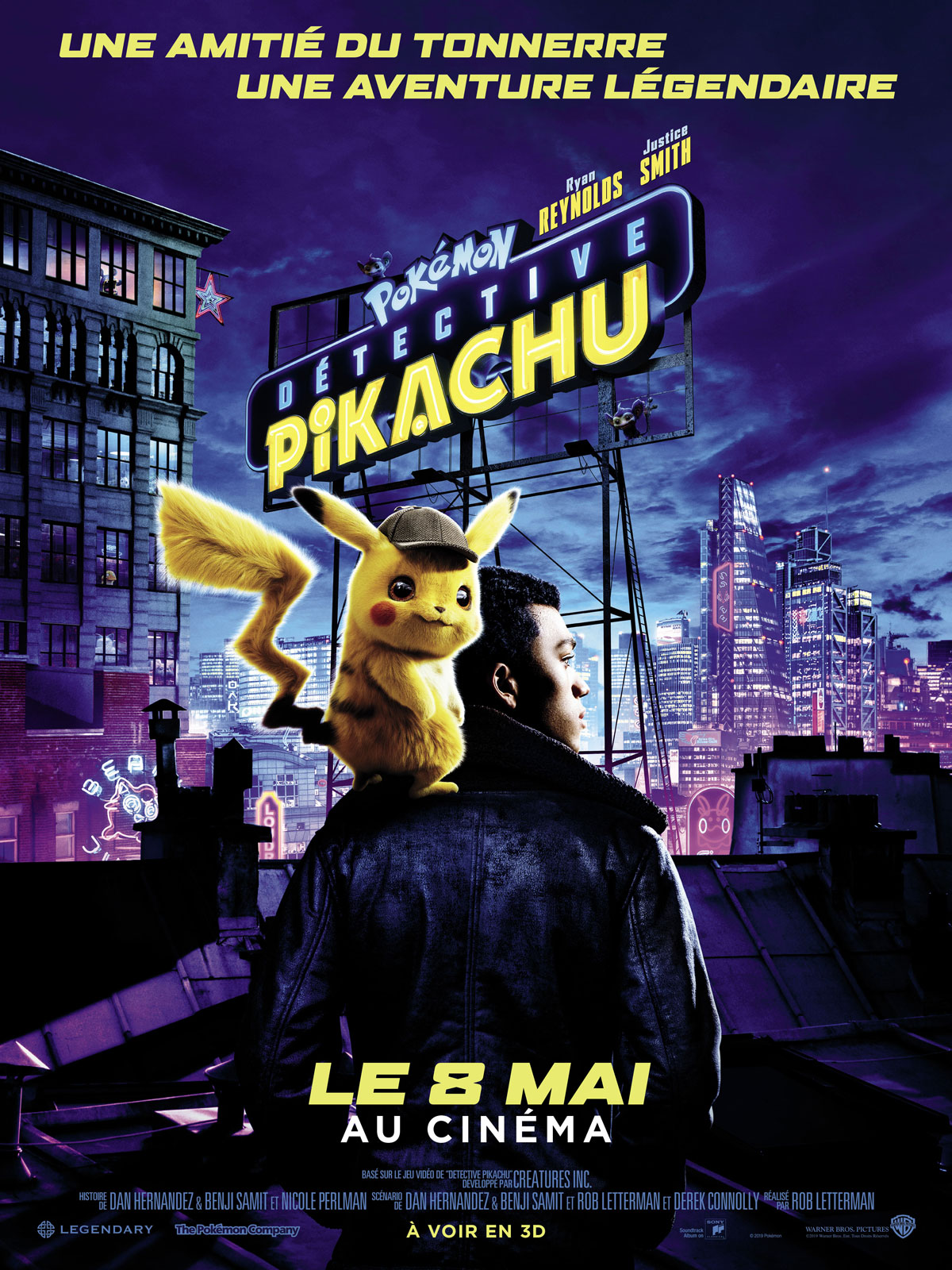 Pokémon Détective Pikachu streaming