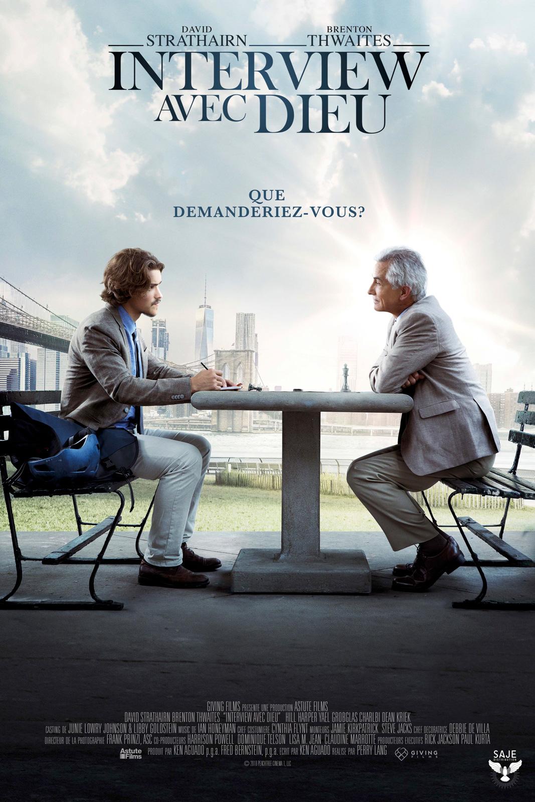 Affiche film INTERVIEW AVEC DIEU