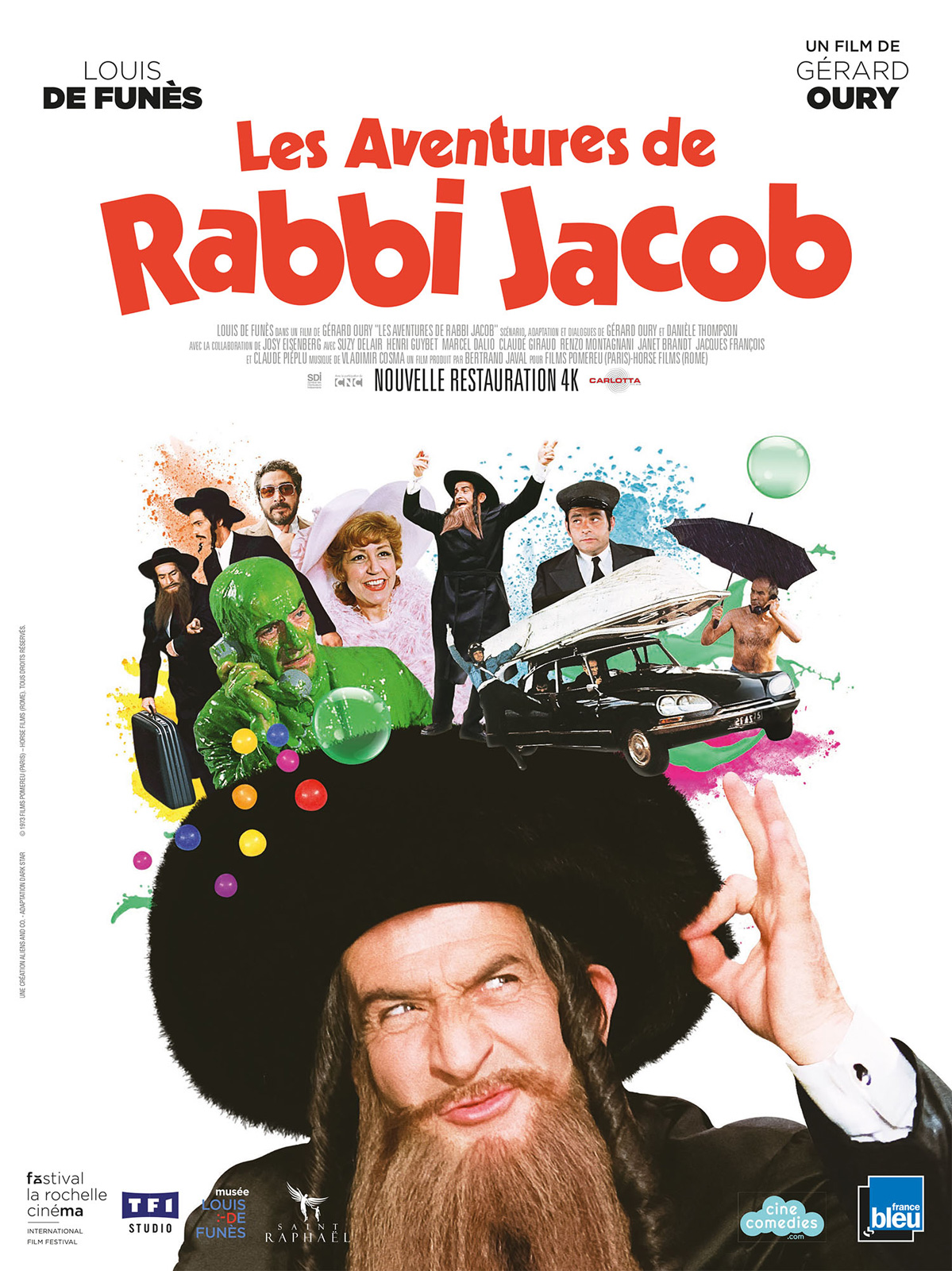 affiche du film : Les aventures de Rabbi Jacob