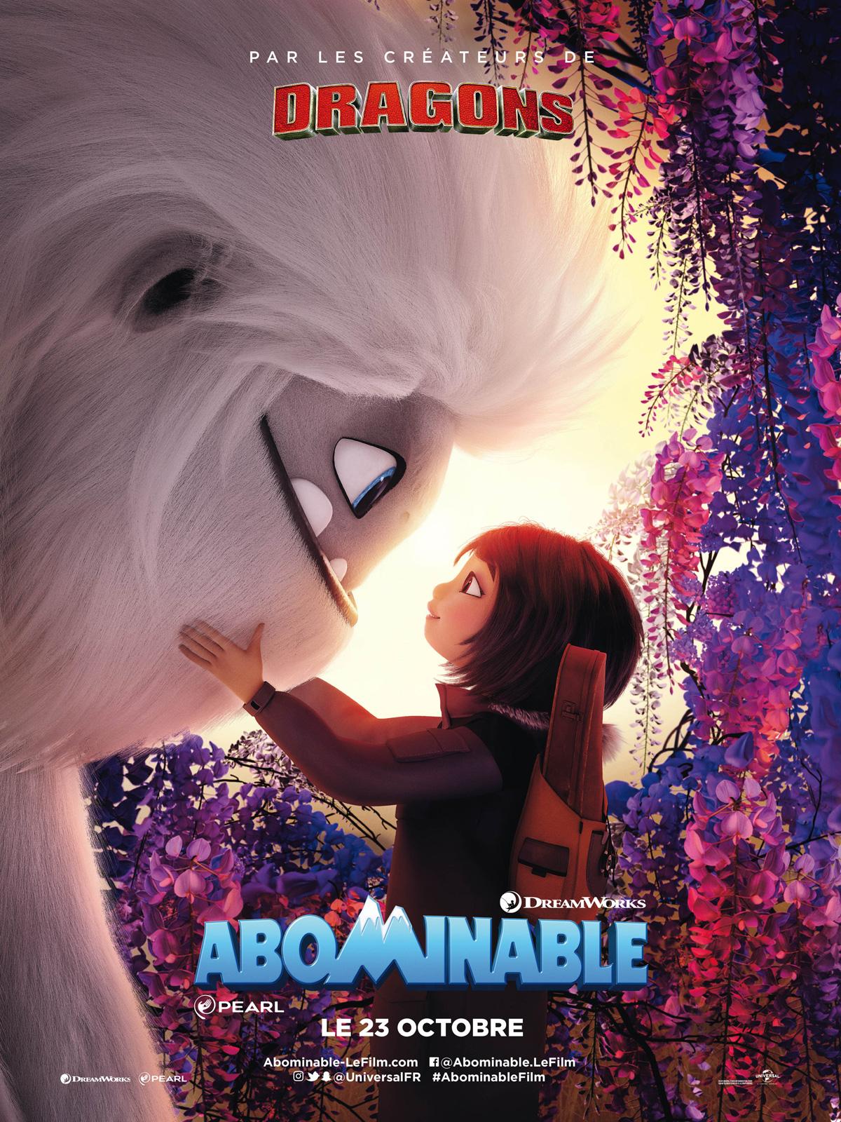 """Résultat de recherche d'images pour """"affiche film abominable"""""""""""