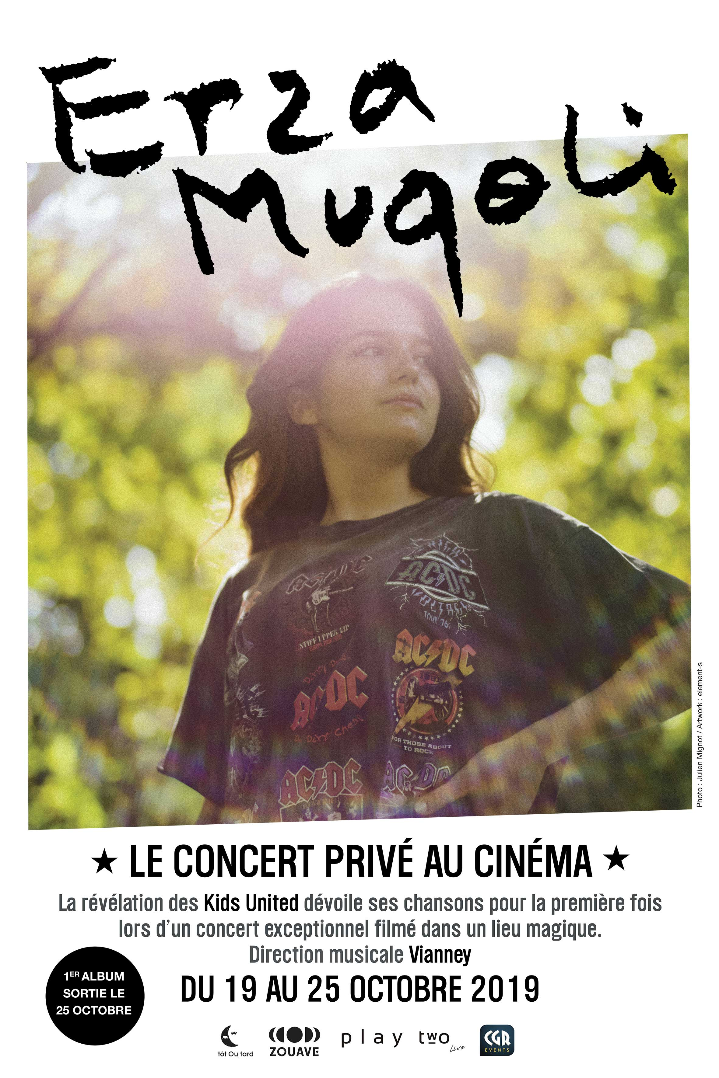 Erza Muqoli : le concert privé au cinéma