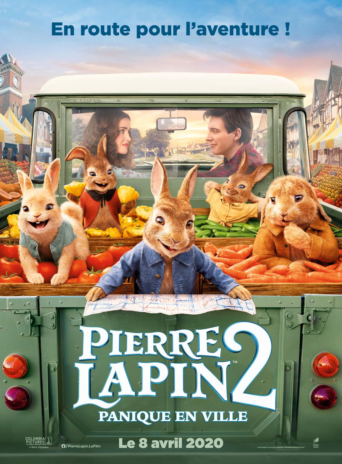 Image du film Pierre Lapin 2 : Panique en ville
