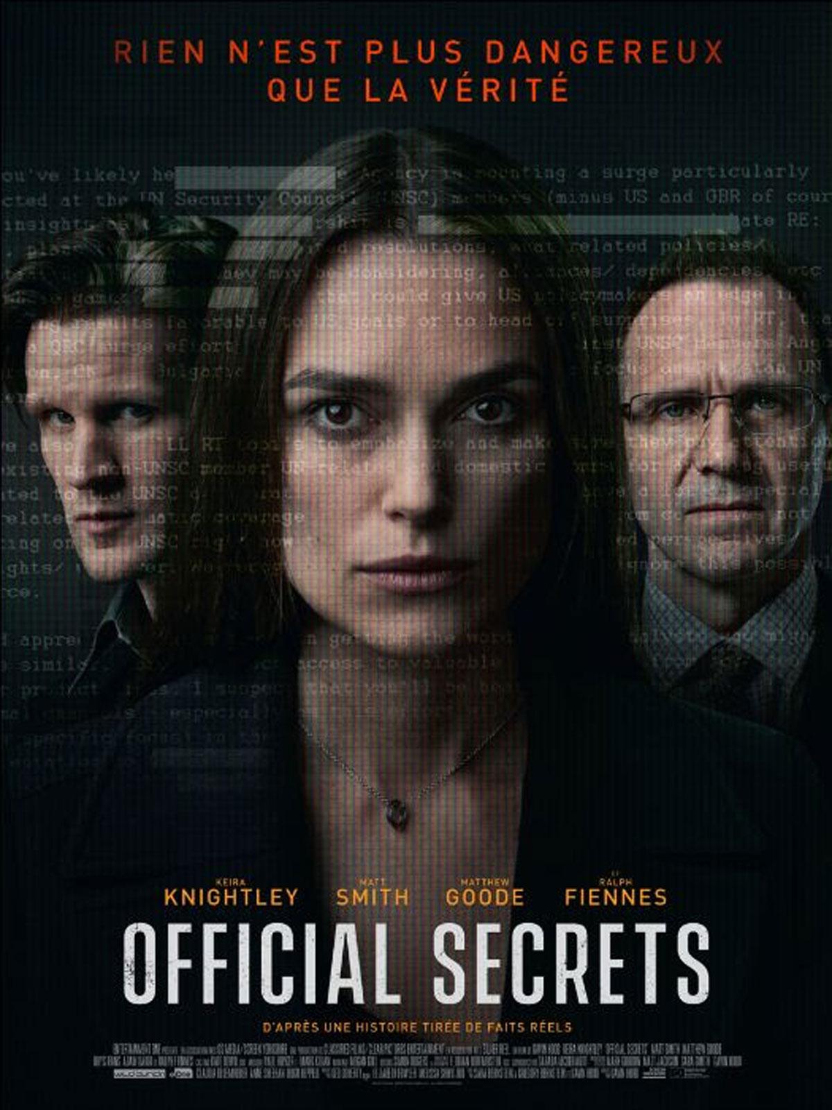 """Résultat de recherche d'images pour """"Official secrets"""""""